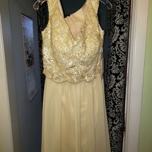 Designer dress NEVER worn (maid of honor)